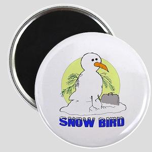 Snowbird Vacation Cartoon Magnet
