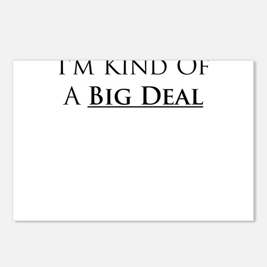 Im kind of a big deal Postcards (Package of 8)