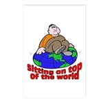 On Top of the World Cartoon Postcards (Package of