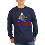 On Top of the World Cartoon (Front) Long Sleeve Da