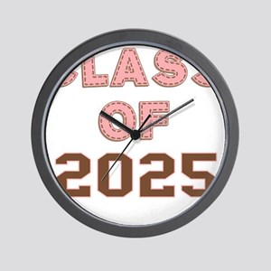 Class of 2025 Wall Clock