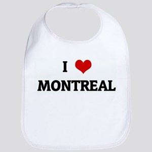 I Love MONTREAL Bib