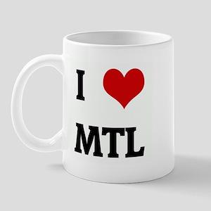 I Love MTL Mug