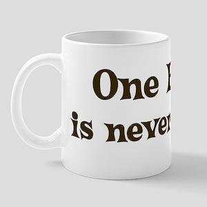 One Boxer Mug
