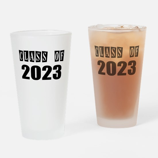 CLASS OF 2023 Drinking Glass