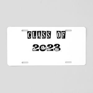 CLASS OF 2023 MARIJUANA Aluminum License Plate