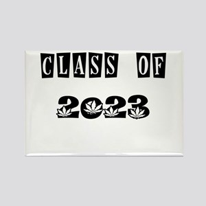 CLASS OF 2023 MARIJUANA Rectangle Magnet