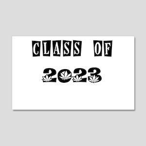 CLASS OF 2023 MARIJUANA Wall Decal