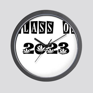 CLASS OF 2023 MARIJUANA Wall Clock