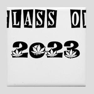 CLASS OF 2023 MARIJUANA Tile Coaster