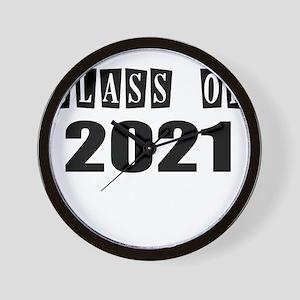 CLASS OF 2021 Wall Clock