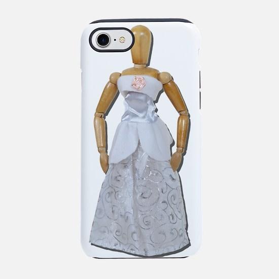 WearingFormalWhiteDress081311. iPhone 7 Tough Case