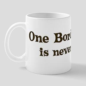 One Border Collie Mug