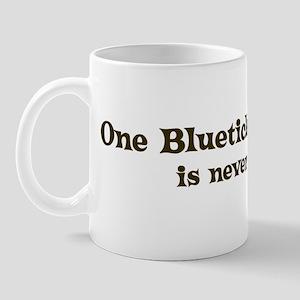 One Bluetick Coonhound Mug