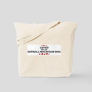 Loved: Estrela Mountain Dog Tote Bag