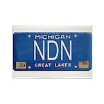 Michigan NDN Pride Rectangle Magnet (100 pack)