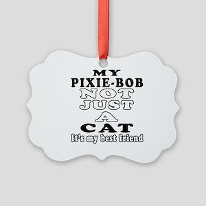 Pixie-Bob Cat Designs Picture Ornament