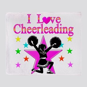 CHEERING CHICK Throw Blanket