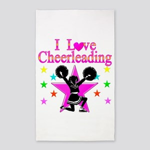 CHEERING CHICK 3'x5' Area Rug