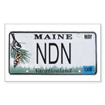 Maine NDN Pride Rectangle Sticker