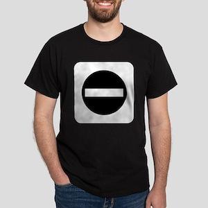 Do Not Enter (B/W) Dark T-Shirt