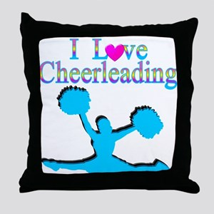 TOP CHEERLEADER Throw Pillow