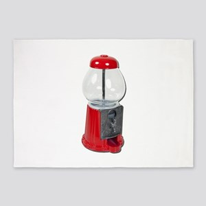 VintageCandyDispenser082111 5'x7'Area Rug