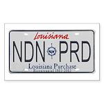 Louisiana NDN Pride Rectangle Sticker