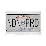 Louisiana NDN Pride Rectangle Magnet (100 pack)
