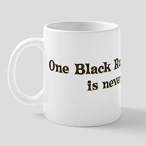 One Black Russian Terrier Mug