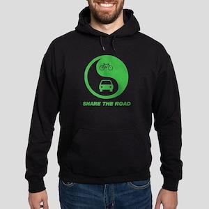 SHARE THE ROAD Hoodie (dark)