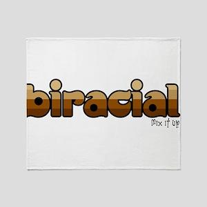 Biracial Throw Blanket