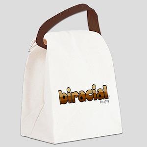 Biracial Canvas Lunch Bag