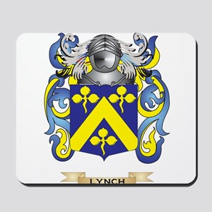 Lynch Coat of Arms - Family Crest Mousepad