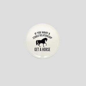 Get A Horse Mini Button