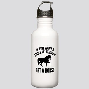 Get A Horse Stainless Water Bottle 1.0L