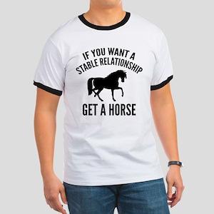 Get A Horse Ringer T
