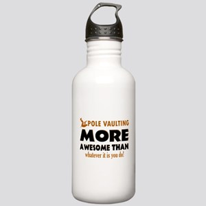 Awesome Polevault designs Stainless Water Bottle 1