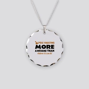 Awesome Polevault designs Necklace Circle Charm