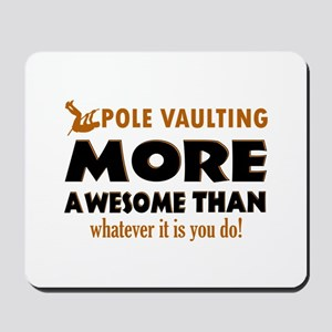 Awesome Polevault designs Mousepad