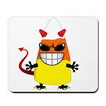 Evil Candy Corn Mousepad