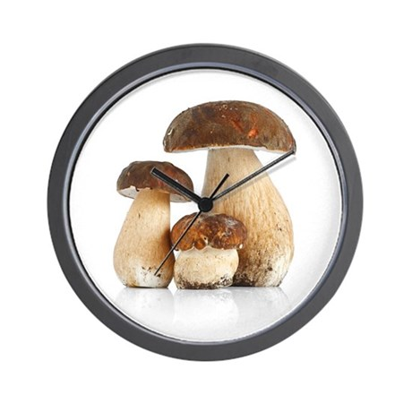 Boletus Edulis var. Aereus Wall Clock