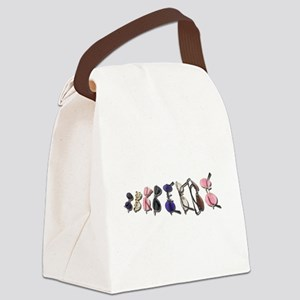 VarietyColorfulGlasses082611 Canvas Lunch Bag