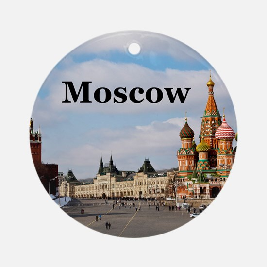 Moscow Ornament (Round)