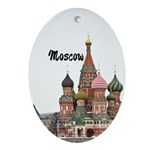 Moscow Ornament (Oval)