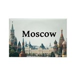 Moscow Rectangle Magnet (100 pack)