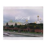 Moscow Throw Blanket