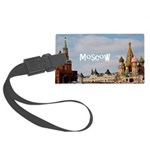 Moscow Large Luggage Tag