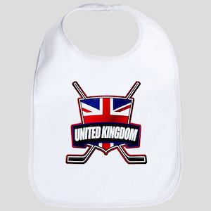British, UK Ice Hockey Logo Shield Bib