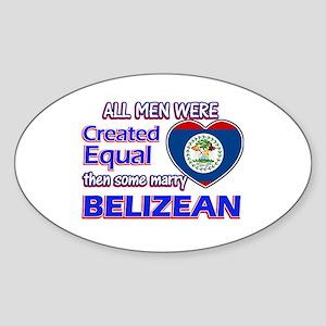 Liberian Wife Designs Sticker (Oval)